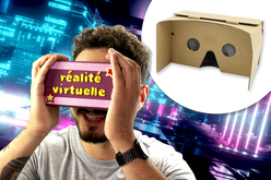 casque réalité virtuelle 3D enfants