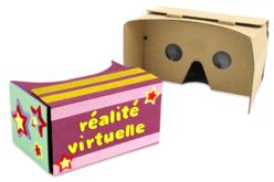 Casque de réalité virtuelle en carton - Objets pratiques du quotidien – 10doigts.fr - 2