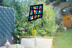 Papier vitrail - 10 couleurs assorties - Papier Vitrail – 10doigts.fr - 2