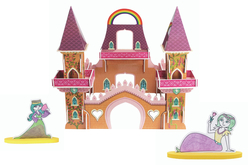 Coffret Château de princesse - Construction et Plastique magique - Jeu d'assemblage – 10doigts.fr