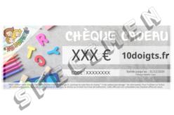 Chèques cadeaux 10 DOIGTS - Montant au choix - Chèques Cadeaux – 10doigts.fr - 2