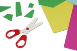 Ciseaux de sécurité pour enfants (lames en plastique) - Ciseaux – 10doigts.fr