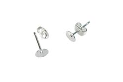 Clous à plateau pour oreilles percées - Lot de 10 - Boucles et pendentifs d'oreilles – 10doigts.fr