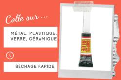 Colle contact Super Glue - Séchage rapide - Outils et colles – 10doigts.fr - 2