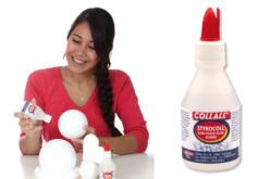 Colle polystyrène - 100 ml - Colles spécifiques – 10doigts.fr