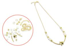Kit collier étoile à fabriquer - Kits bijoux – 10doigts.fr - 2