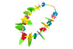 """Kit Colliers fleurs Hawaï  """"Aloha"""" - Kits activités Carnaval – 10doigts.fr - 2"""