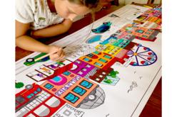 coloriage fresque maxi
