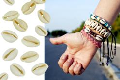 coquillages cauri pour bracelets