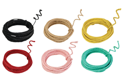 Corde de jute armée - 3 m - Cordes naturelles – 10doigts.fr - 2