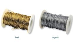 Cordon métallisé