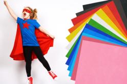 Coupons de tissu non tissé (1 x 1.60 m) - 12 couleurs - Coupons de tissus – 10doigts.fr - 2
