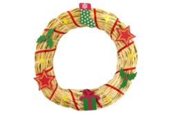Motifs de Noël en bois décoré - Set de 8 - Motifs peints – 10doigts.fr - 2