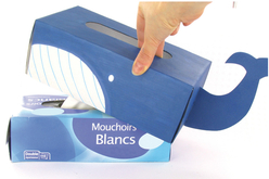 Couvre-boîte à mouchoirs - Boîtes en carton – 10doigts.fr - 2
