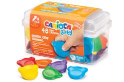 Craies de cire Carioca Baby - Set de 48 - Crayons cire – 10doigts.fr - 2