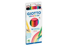 Crayons de couleur GIOTTO Colors 3.0 - Crayons de couleurs – 10doigts.fr - 2