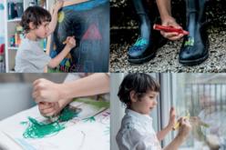 Crayons de couleurs 3 en 1 WOODY - 10 couleurs - Crayons de couleurs – 10doigts.fr - 2