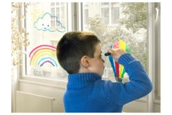 Crayons cire pour vitres et fenêtres - 4 ou 6 couleurs - Crayons cire – 10doigts.fr - 2