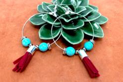 Boucles créoles d'oreilles argentées - Lot de 6 - Boucles et pendentifs d'oreilles – 10doigts.fr - 2