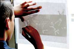 Rouleau de papier calque blanc - Papier calque – 10doigts.fr - 2