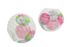 Papier Décopatch roses - 3 feuilles N°716 - Papiers Décopatch – 10doigts.fr - 2