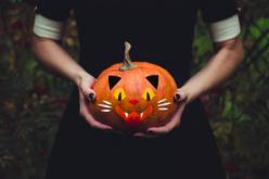 Stickers en caoutchouc mousse - Kit pour décorer 4 citrouilles - Halloween – 10doigts.fr - 2