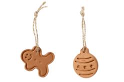 Tampons empreintes Noël - 4 motifs - Emporte-pièces – 10doigts.fr - 2
