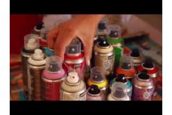 Peinture DECOSPRAY 100 ml - 10 couleurs - Peinture en aérosol – 10doigts.fr - 2