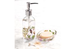 Distributeur de savon en verre - Supports en Verre – 10doigts.fr - 2