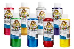 Encres métallisées 10 DOIGTS - 250 ml - Encres liquides – 10doigts.fr