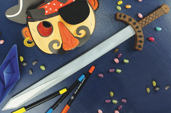 Épée en bois - Mardi gras, carnaval – 10doigts.fr - 2