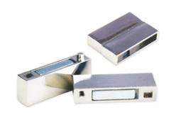 Fermoir magnétique rectangulaire argenté - Fermoirs – 10doigts.fr - 2