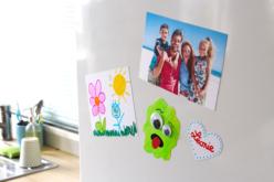 Papier dessin magnétique imprimable - Lot de 2 feuilles - Papiers Dessins et Esquisses – 10doigts.fr - 2