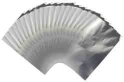 feuilles métal silver