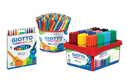Feutres Giotto Turbo Color - Pointe fine - Feutres – 10doigts.fr