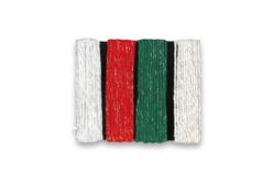 Ficelles cordelettes en coton métallisé - 4 couleurs - Fils en coton, échevettes – 10doigts.fr - 2
