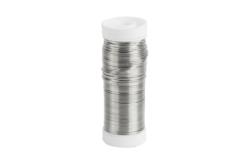 Fil métallique 0,4 mm - Argent - Fils aluminium – 10doigts.fr