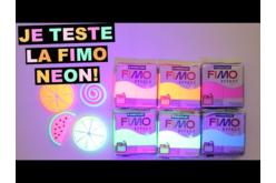 Fimo Effet Néon - Couleurs au choix - Fimo Effect – 10doigts.fr - 2