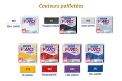 FIMO Effect à l'unité - Couleurs pailletées au choix - Fimo Effect – 10doigts.fr - 2