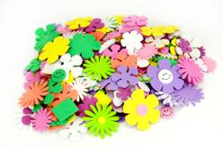 Embellissements fleurs et coeurs – 10doigts.fr