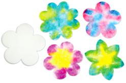 Fleurs en papier diffuseur - Set de 80 - Nouveautés – 10doigts.fr