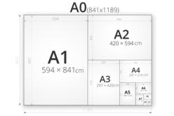 Papier épais blanc - Format au choix - Papiers pour peinture – 10doigts.fr - 2