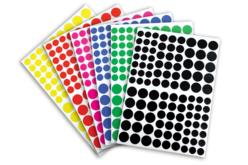 Gommettes géométriques - Formes au choix - Toutes les gommettes géométriques – 10doigts.fr - 2