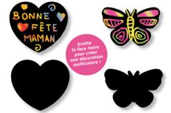 Stickers en carte à gratter thème romantique - 24 pcs - Cartes à gratter – 10doigts.fr - 2