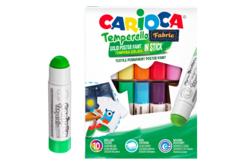 Sticks de gouache solide pour textiles - 10 couleurs - Peinture Tissu – 10doigts.fr - 2