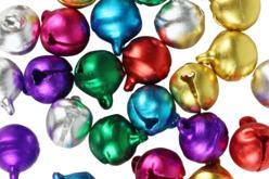 Grelots couleurs assorties - Set de 30 - Grelots et clochettes – 10doigts.fr