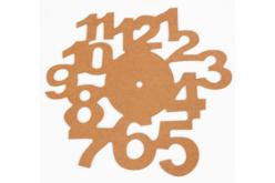 Cadran horloge bois MDF - Horloges en bois – 10doigts.fr - 2