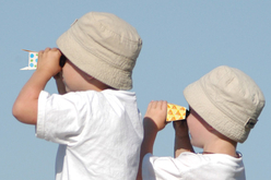 Jumelles de poche à décorer - Supports blancs – 10doigts.fr - 2
