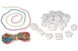 Bracelets gourmettes - Kit pour 30 bracelets - Bijoux, bracelets, colliers – 10doigts.fr - 2