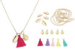 Kit sautoirs coquillages à fabriquer - 5 sautoirs - Kits bijoux – 10doigts.fr - 2